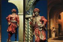 Kavas Bashi: Oficial de Puerta Otomano / Fotos de ejemplo. Figura ya terminada a falta de fotografía.
