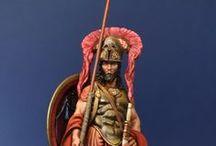Pausanias: General Espartano de Alexandros Models. / Próximo proyecto, fotos de ejemplo para pintura.