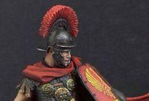 Centuriones, legionarios, gladiadores y enemigos de Roma. / Próximos proyectos, fotos de ejemplo para pintura y trabajos míos finalizados.