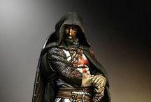 Cruzados: Caballero Templario Siglo XIII