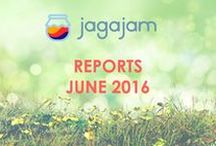 Social Media Reports June / Time to find out what brands did in Social Media in June!  Fresh JagaJam Social Media Reports - June 2016 are available now on JagaJam.com: http://jj.ag/2SAewv