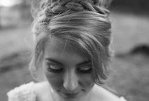 Bridal Hair / The beautiful hairstyles of brides.