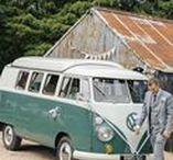 Wedding Wheels / Beep beep...here comes the wedding party.