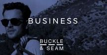 Business   Buckle & Seam / Being a young brand, we get inspired by entrepreneurial initiatives and creative ideas that conquer the world with it´s business. Hopefully you will get equally inspired and turn that idea into something real.