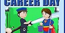 Help to Save Career Day / Educational, Humorous, and interactive picture book full of fun activities for kids aged 3 to 8