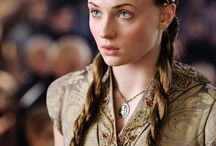"Sansa Stark / ""I'm sure cutting off heads is very satisfying, but that's not the way you get people to work together."" Sansa Stark"