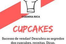Cupcakes / Descubra como fazer os melhores cupcake, aprenda aqui receitas para fazer cupcakes para vender, cupcake recheado, e veja um curso de cupcake online sensação do mercado.