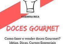 Doces Gourmet / ➡CLIQUE NOS PINs, E Descubra a arte de fazer doces para vender como brigadeiros, brigadeiros gourmet, beijinhos, e muito mais.