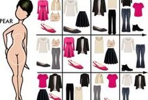 Pear Figure Styling Guidelines / Fashion and style for the pear figured woman
