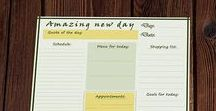 Schedules, planners, printables / Ideas for passive income selling printables online