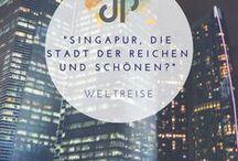 Singapur / Die Mega-City Singapur - Erfahrungen und Tipps von unserer Weltreise.