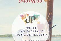 """Weltreise meets Business / Wie verbinden wir Reisen und Arbeiten? Hier gibt es unsere """"Weltreise meets Business"""" Sammlung."""