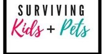 Surviving Kids + Pets / Dogs and Babies | Kids and Pets | Relationships between Kids and Pets | Kids with Pet Allergies | Dog Training | Kid Friendly Dog Breeds