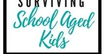 Surviving School Aged Kids / School Aged Kids | Helping School Aged Kids with Homework | Homework | Practicing school work at home |  Educational Activities for kids | Home Reading | Practicing Writing Skills | Teaching kids about Money | Teaching kids about Time | Teaching kids at home