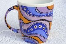 Kubki / Ręcznie malowane kubki, hand painted mug