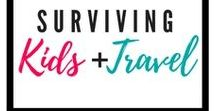 Surviving Kids + Travel / Flying with kids | Flying with babies | Flying with toddlers | Tips for travelling with kids | Road trips with kids | Car trips with kids | Disneyworld | Disneyland | Family Road Trips | Family travel | Vacation planning | Summer vacation | How to survive summer vacation with kids | Beach days with kids