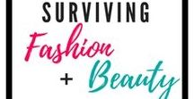 Surviving Fashion & Beauty / Fashion Advice for Moms | Wardrobe tips | Mom Outfits | Beauty Tips for Moms | Beauty Advice | Makeup Tips | Clothing and Makeup | Spring Outfits | Summer Outfit | Winter Outfit | Fall Outfit | Capsule Wardrobes | Maternity Clothing | Breastfeeding Clothing | Postpartum Clothing |