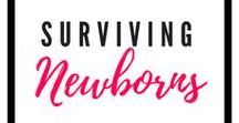 Surviving Newborns / Newborns | Babies | Tips for Babies | Diapering | Newborn to 6 months | Babies under 1 year | Baby Registry | Baby Products | Colic | Sleep Training Babies | New baby | Tips for new babies | Teething | Baby Developmental Milestones | Diaper Rash | Cradle Cap | Bathing Newborns | Toys for Baby | Playing with Baby | Baby Health Information