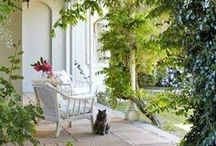 Porches, Patios and Swings / Front Porch | Back Porch | Sitting Rooms | Screened In Porch | Outdoor Rooms | Porch Swings | Outdoor Decor