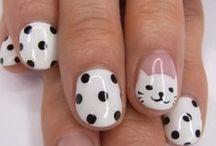 Nail art / Very pretty nail art.
