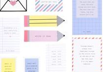 Stationery Geek / Super cool stationery!