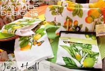 Tea Towels / Dish Towels | Vintage Towels | Embroidery Towels | Handmade Towels | Cottage Linens