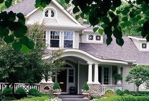 Pretty Homes & Home Decorating / by Melissa Hickey