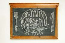 Make: Chalkboard Art