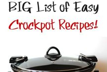 Crockpot Ideas / by Lindsey Douglass