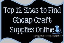 Shopping for Craft Supplies
