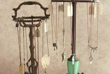 Jewelry Organizer / Need some inspiration on how to creatively store or display your jewelry collection? View these unique and imaginative ideas.  From Retro to Modern to Recycled, so many great, fun ways to organize and display your jewelry!  Visit us to help fill those displays at http://stores.ebay.com/Stuff4Uand4U