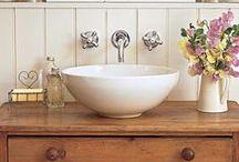 Bathrooms / Country Bathrooms | Country House Bathroom | Cottage Bathroom | Vintage Bathroom | Bathroom Accessories | Bath Details | Soaps | Towels | Bathroom Fixtures | Vintage Bathroom | Farmhouse Bathroom