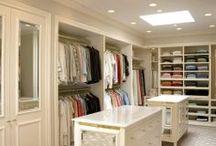 Closets / Closet organization and design ideas.