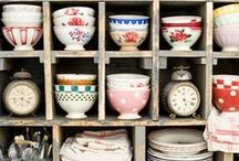 Dish Storage / Creative ways to organize and show off your tableware.