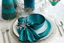 Tabletop Decor Tablescapes / Create YOUR Tablescape Style! Get inspired and create a beautiful setting for your next dinner party. Beautiful styling ideas for winter, summer, spring and autumn as well as the holidays. Outdoor or indoor, you are going to love what you see! Need to complete your design with some flatware? Visit us at http://stores.ebay.com/Stuff4Uand4U