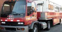 AB American Fire Deprt Trucks (2)-(2) / American FD Mobile Operations Centers,MOC.