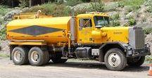 AB American Tanker Rigs (2) / Oldtime American Tanker Trucks.