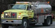 AB American Fire Deprt Trucks (3) / American Rescue and Fire Department Tanker Trucks.