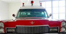 AB American A-Wheel EU (2) / Oldtime American Sedan Ambulances.