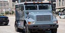 AB American Armored Bank Trucks / Heavy American Armored Bank Trucks.