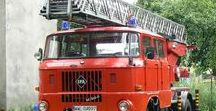 W World Fire Rescue (4)-(4) / European Oldtime Ladder & Aerial Rescue Units.