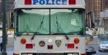 X American Buses (3) - Police/Prisional/Correctional / American PD & County Prisional/Correctional/Mobile Central Command Buses.