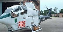 AB American Fire Deprt / American FD & EMS air search & rescue Aircrafts.