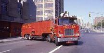 AB American Fire Deprt Trucks (2)-(2)-(2) / Oldtime American FD Iconic Super Pumper Tenders.