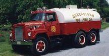 AB American Fire Deprt Trucks (3)-(3) / Oldtime American FD Tankers.