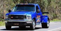AB American Tow Wrecker Trucks (3) / American Light Tow Wreckers.