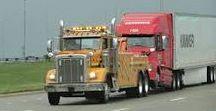 AB American Tow Wrecker Trucks (5) / American Wrecking Service.