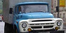 C A Russian Trucks (2) / Oldtime Russian & Czechian Republic Trucks.