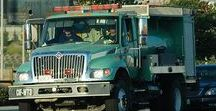 AB American Fire Deprt Trucks (3)-(3)-(3) / American Green Forest Service Protection.