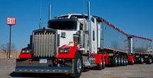 AB American Dumpers (3) / American Articulated Dumper Trucks.